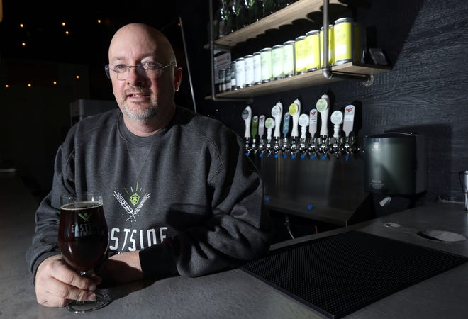 Rich Hennosy has opened Eastside Brewing Co., 1421 Davidson Drive in Reynoldsburg. Hennosy also owns Buckeye Lake Brewery, and both their beers will be sold at Eastside Brewing Co.
