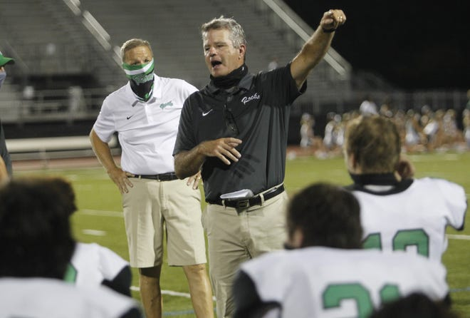 Mark Crabtree, who resigned Jan. 14 after 20 seasons as Dublin Coffman football coach, has joined the staff at DeSales.