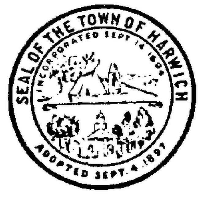 The town seal of Harwich.