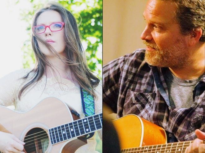 Two regional arts organizations are teaming up to present a live-streamed concert featuring Grace Morrison and Marc Douglas Berardo at 7 p.m. Jan. 30. Pictured are Morrison and Berardo.