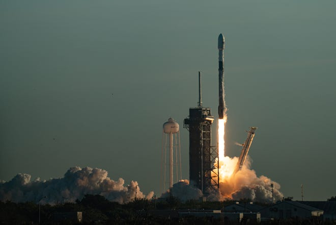 SpaceX is scheduled to launch a Falcon 9 rocket early Tuesday morning from Kennedy Space Center pad 39A.