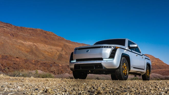 The Lordstown Motors all-electric Endurance pickup goes into production this fall. It has more than 100,000 pre-orders from commercial customers.