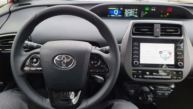 Before the Tesla Model 3, the Toyota Prius was the first car to move the instrument display to the center of the dash.