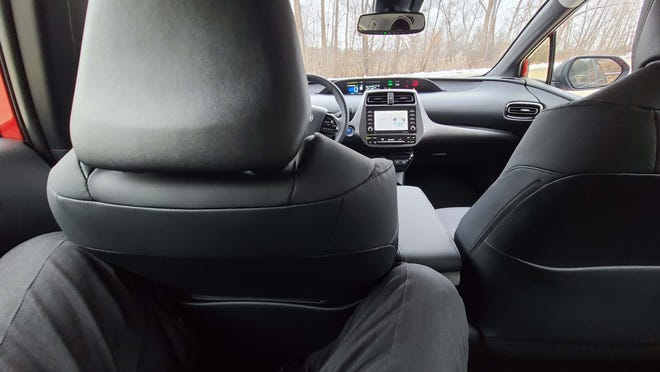 The Toyota Prius has always been tight on rear legroom for 6-footers like Detroit News auto critic Henry Payne.
