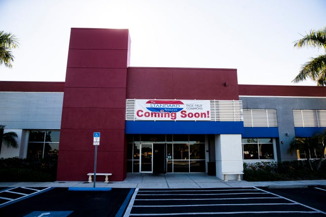 The second location of the Standard restaurant at the Page Field Commons on Wednesday, January 20, 20201.  The restuarant is slated to open on the 25th of January.