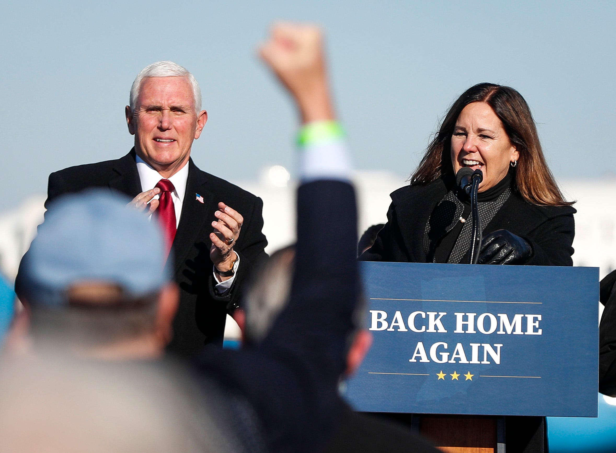 Exclusive:  No place like home,  Karen Pence says of moving back to Indiana