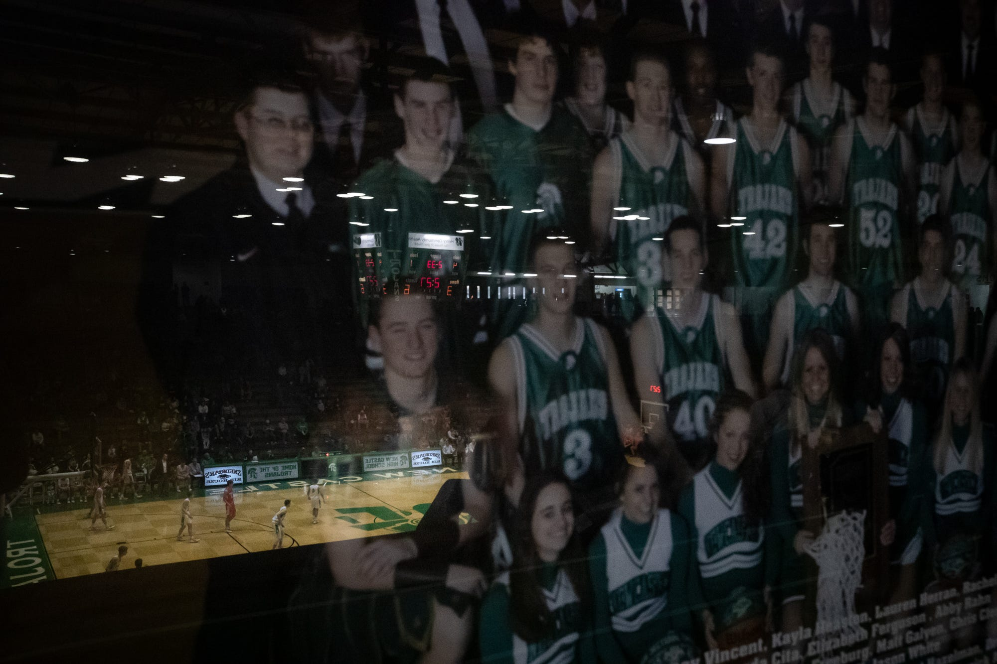 A look inside the New Castle Fieldhouse before sectional basketball on Tuesday, March 3, 2020.