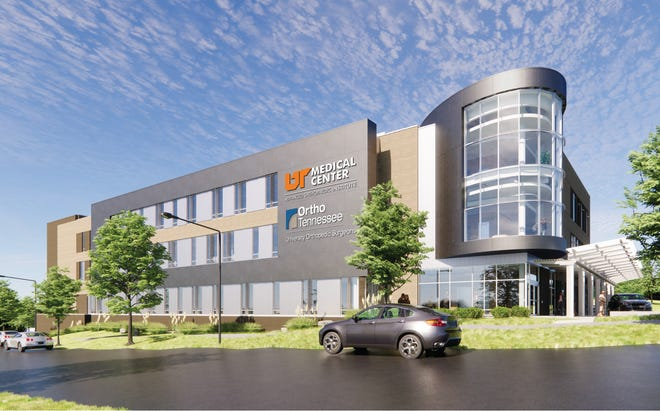 Construction is underway on the 91,000-square-foot Advanced Orthopaedic Institute at the UT Research Park at Cherokee Farm, just across Alcoa Highway from the main campus of UT Medical Center.