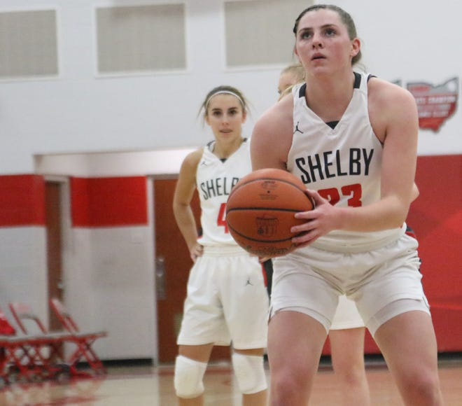 Shelby's Olivia Baker at the Whippets earned the No. 1 overall seed in a rugged Division II Ashland District.