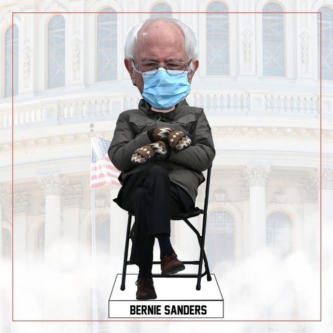 Bernie Sanders Mittens Memes Abound Over Biden Inauguration Attire