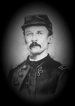 Charles Dana Miller, photographed in 1864, was a sergeant in the Union Army who helped recruit men from across Licking County.