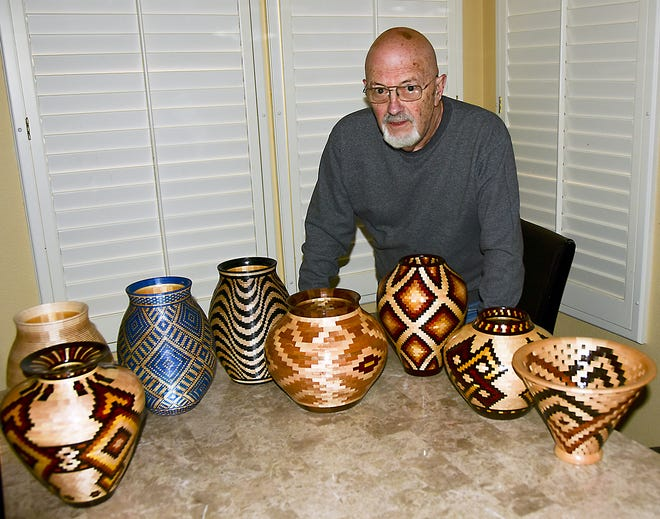 Dick Costa will be the featured artist in February at the Deming Art Center, 100 S. Gold Street. Costa will exhibit is woodworking talents throughout February at the center.