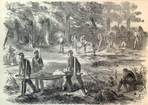 The men of the 69th Indiana Regiment that trained in Richmond sustained grievous losses.