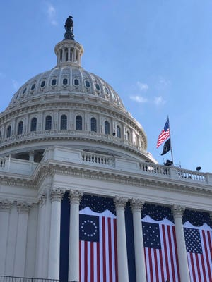 The U.S. Capitol. What we're supposed to stand for.
