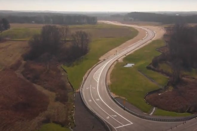 The main roadway has been constructed National Road Business Park in Perry Township. Now, the county has to find businesses interested in building facilities ranging from 25,000 to 50,000 square feet.