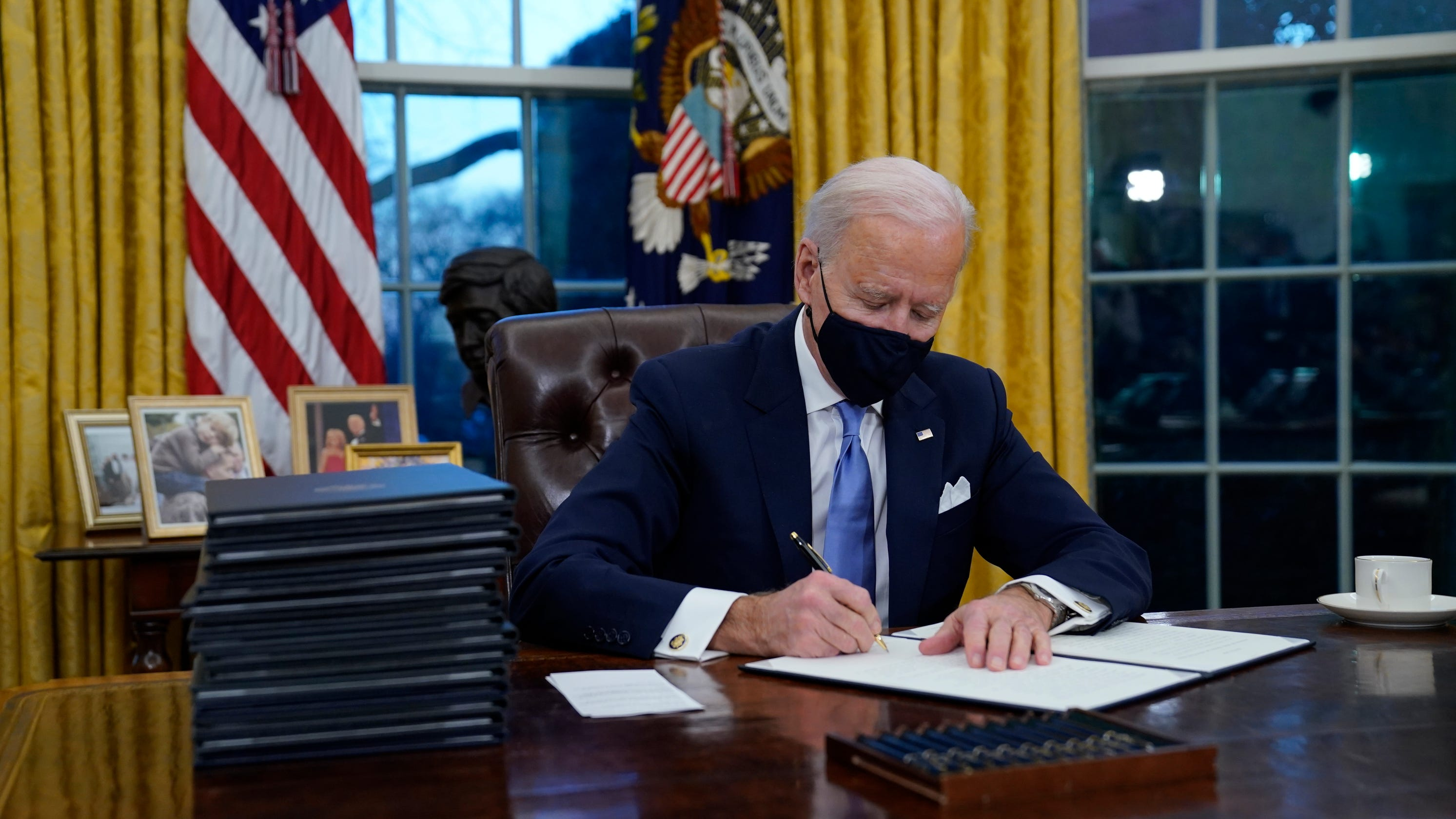 Biden executive order aims to expedite stimulus payments for 8 million recipients
