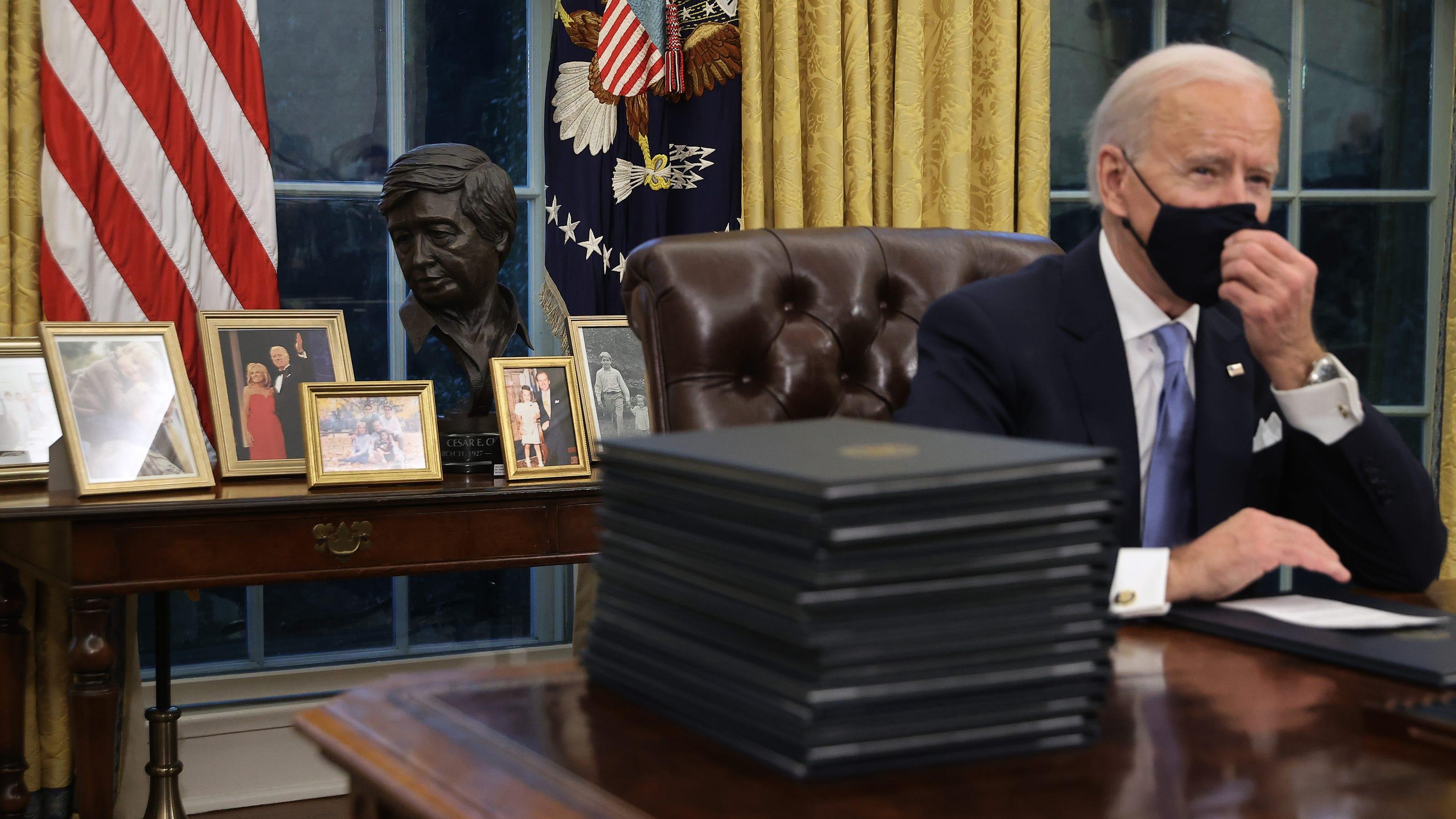 Full List of Biden's Destructive Executive Orders