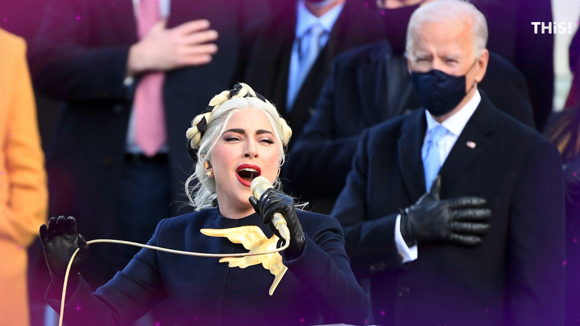 Lady Gaga's anthem, Amanda Gorman's poem highlight inauguration performances