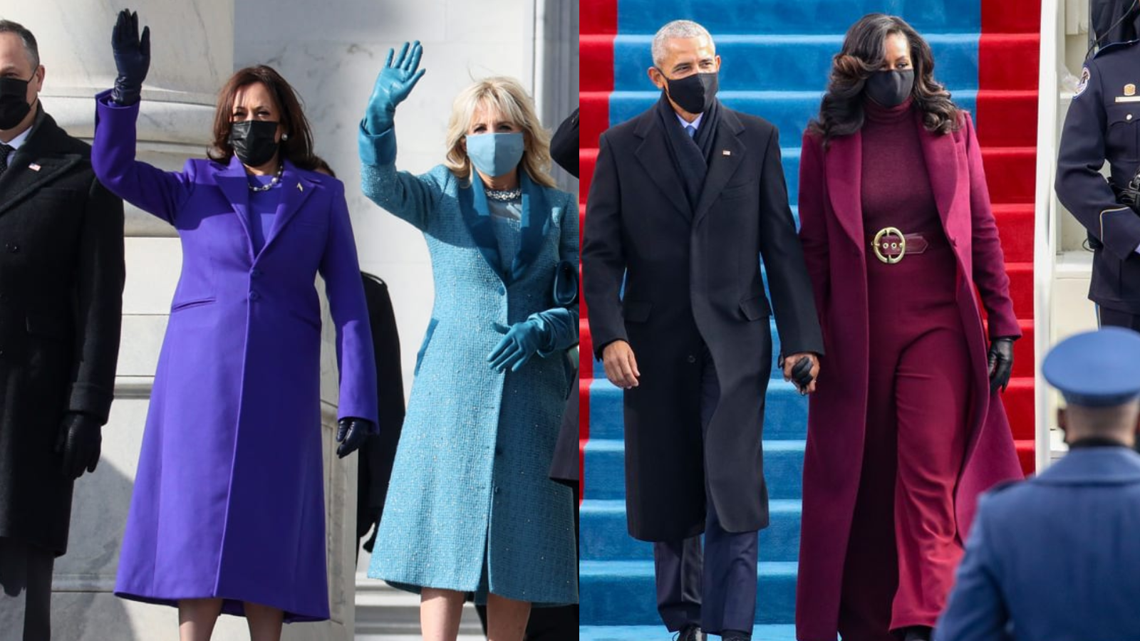 Purple is everywhere at Biden s Inauguration—here s how to get the look
