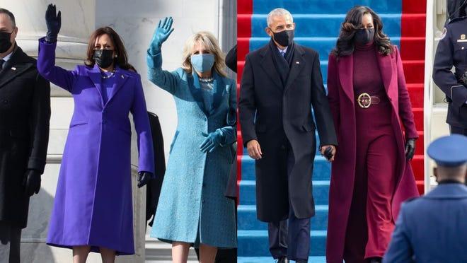 Everyone is wearing purple on Inauguration Day