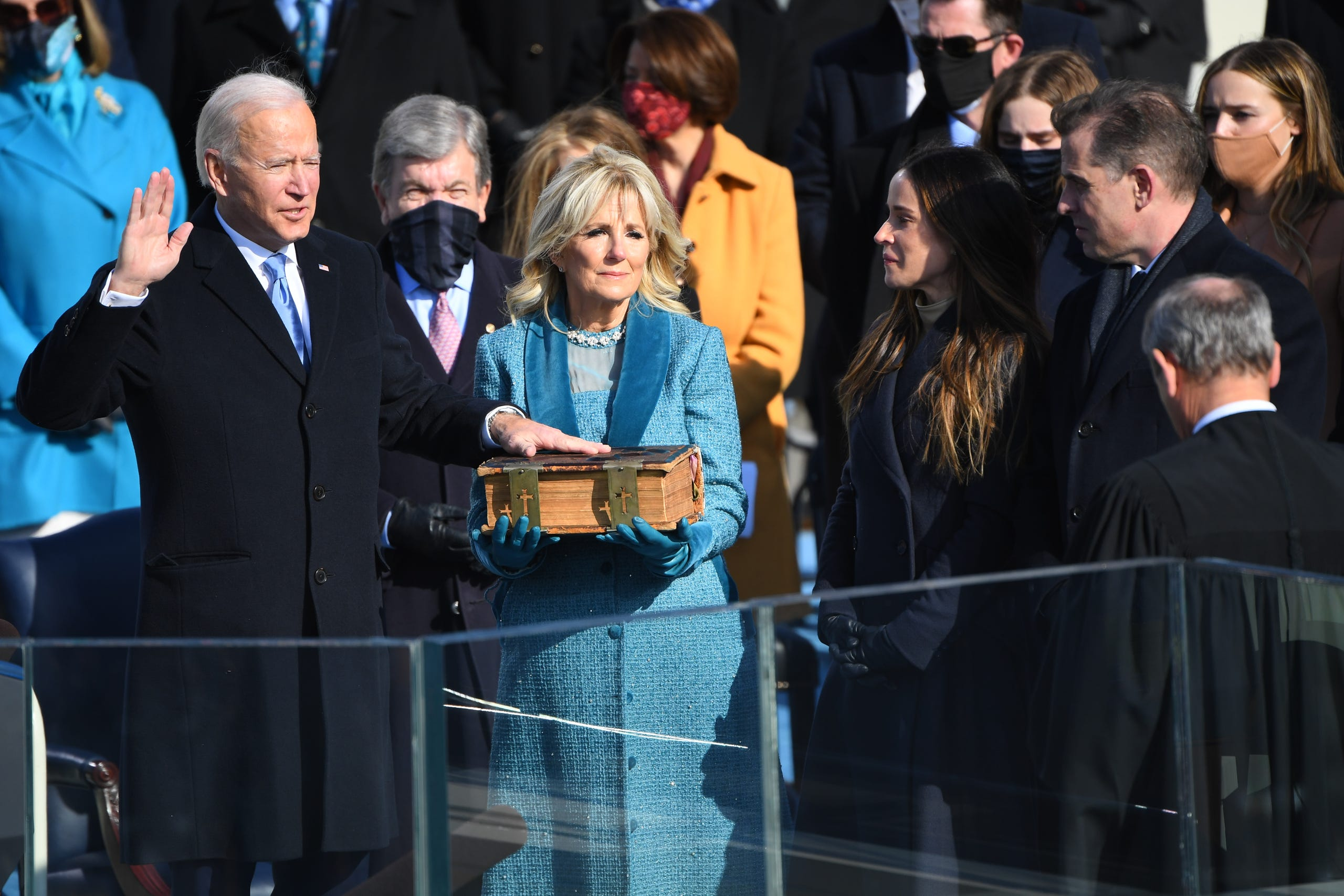Joe Biden Presidential Inauguration In Photos