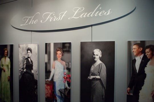 The First Ladies exhibit opening in November 2011 at the National Museum of American History.