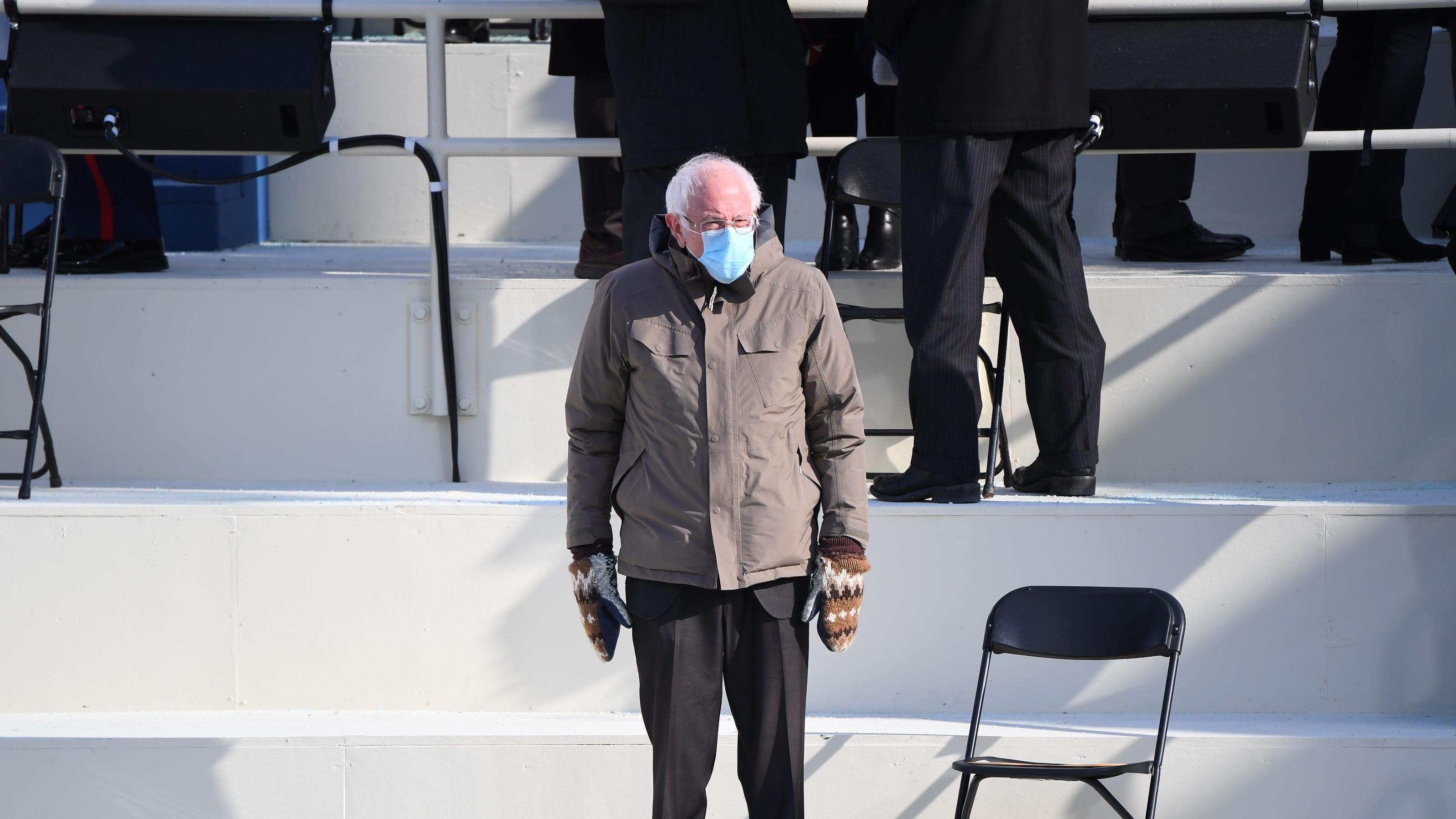 Bernie Sanders Inauguration Mittens Were Made By A Vermont School Teacher Insidehook