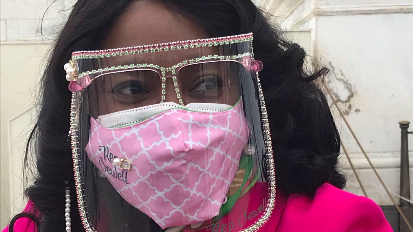 'We earned it': Women of color at inauguration celebrate Kamala Harris
