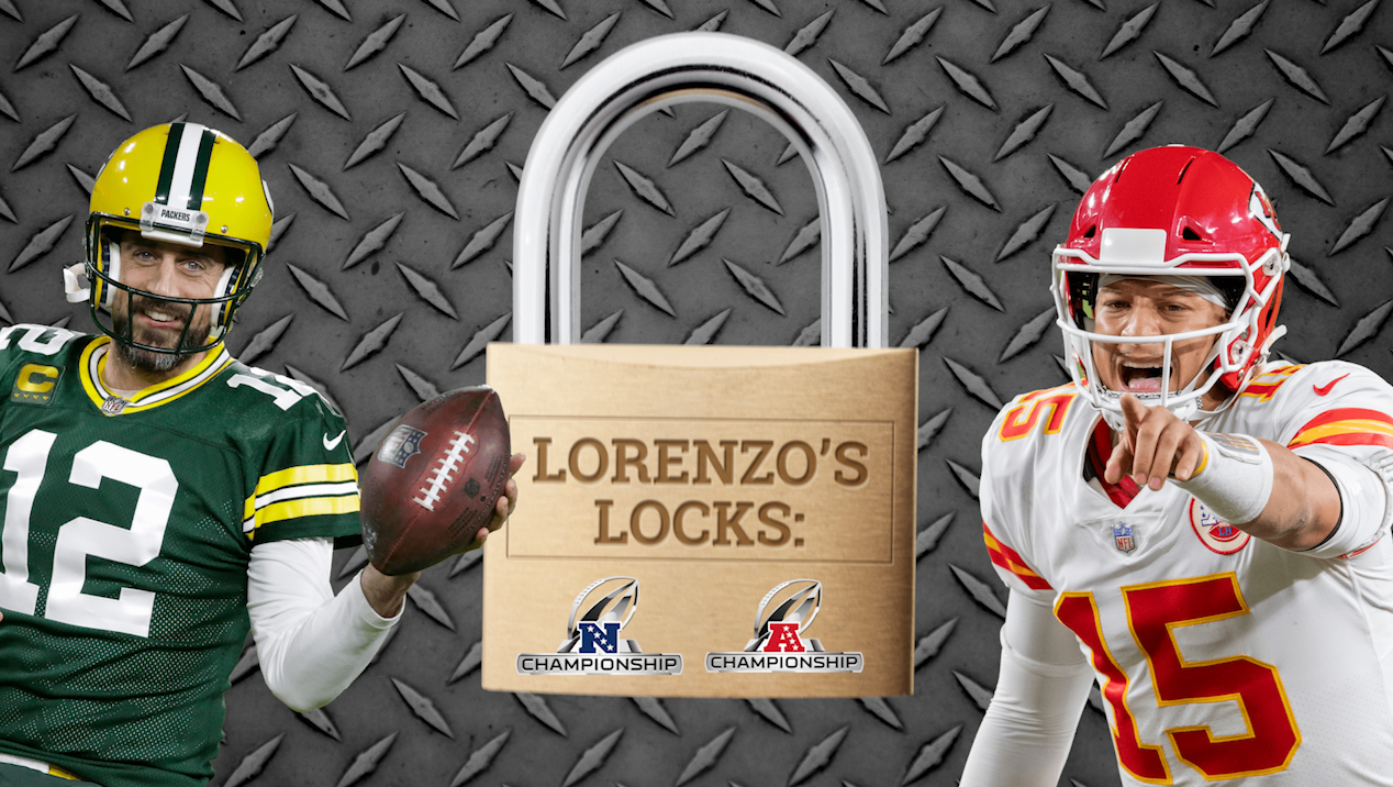 Lorenzo's Locks: The 2 best bets for NFL championship Sunday