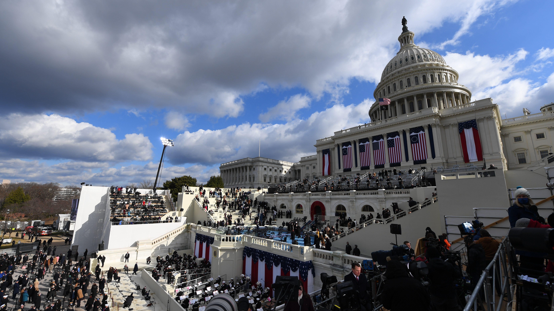 Inauguration Day Photos Historic Images Capture Mood Of Washington