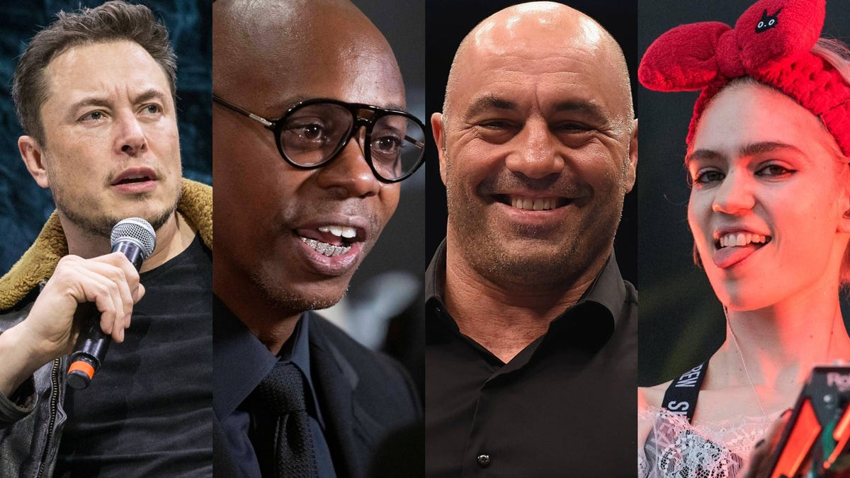 Joe Rogan, Dave Chappelle, Elon Musk and Grimes have been hanging out in Austin