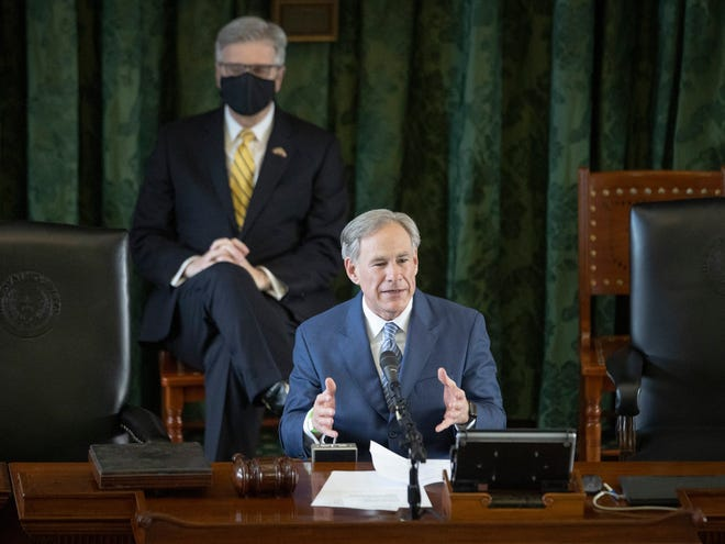 Gov. Greg Abbott could potentially face a challenge from his own party's right wing.