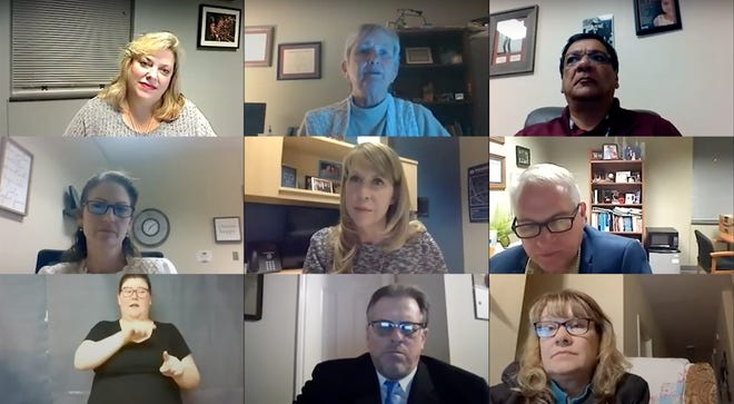 The Round Rock school district had its first virtual town hall meeting to discuss ongoing coronavirus health and safety updates on Jan. 19.