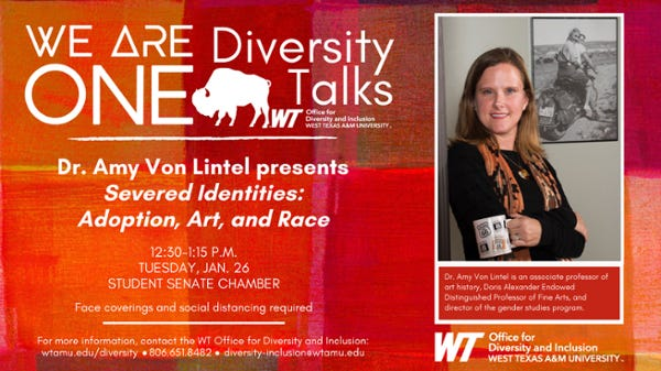 Amy Von Lintel will be featured in the semester's first Diversity One Talk.
