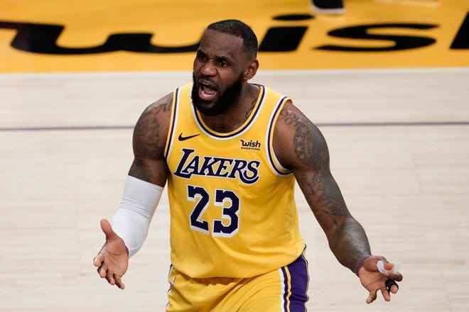 Plead your case, LeBron James -- for other Black Americans to get vaccinated for COVID-19.