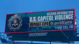 Billboards, one in Newark, seek Capitol rioters