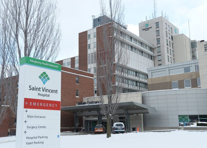 Allegheny Health Network, Saint Vincent Hospital's parent organization, has temporarily stopped scheduling COVID-19 vaccinations due to limited supplies of vaccines.