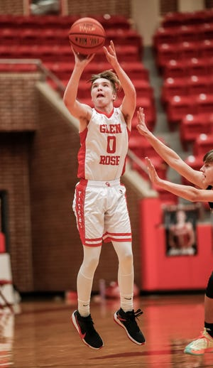 Glen Rose's Matthew Hammonds scored 25 points in the win over Gatesville on Tuesday night and went over the 1,000-point mark in his career.