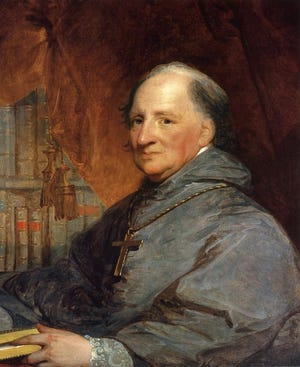 America's first Roman Catholic bishop and archbishop John Carroll founds Georgetown College, later University, in Washington D.C. on Jan. 23, 1786.