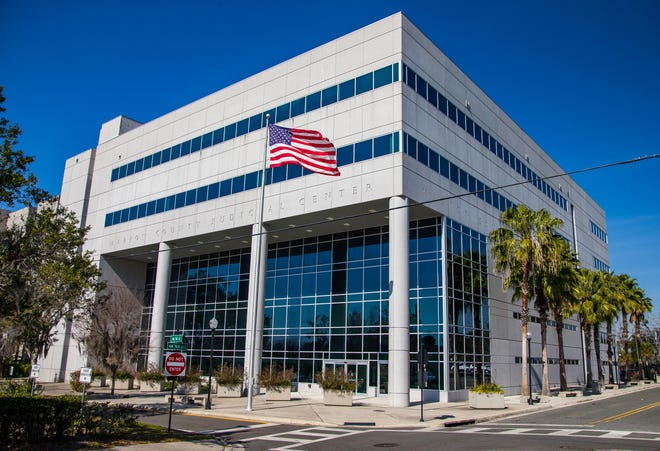 Marion County Judicial Center, Thursday afternoon, January 21, 2021 in Ocala, FL. [Doug Engle/Ocala Star Banner]2021
