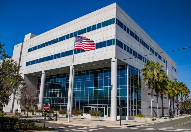 Trials at the Marion County Judicial Center in Ocala have been on hold since March. They will be back on next month.