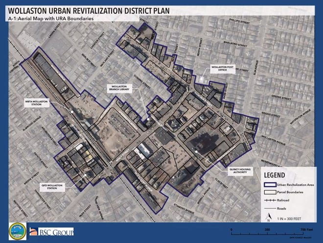 City officials say the Wollaston Urban Renewal Planwill revitalize a tired part of the city.