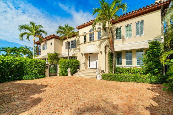 This Mediterranean-style house at 7417 S. Flagler Drive in West Palm Beach will be the site of the fourth annual Kips Bay Decorator Show House Palm Beach when it opens in April.