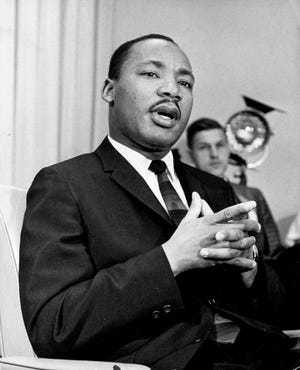 Martin Luther King Jr. (Jay Spencer/The Miami News)