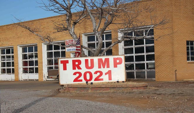 For some in Pratt, a sign (or picture) is worth 1,000 words, especially on Inauguration Day 2021.