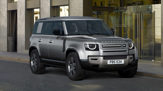 The ride of the 2021 Land Rover Defender 110 X is comfortable on-road and capable off-road thanks to the optional air suspension.