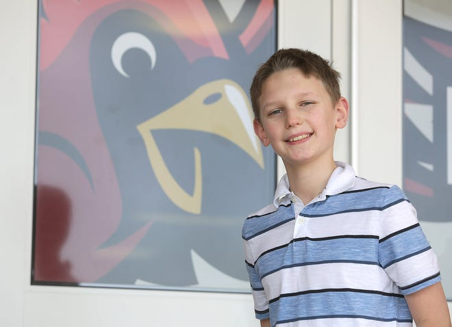 Ben Gibson is a Canton Repository United Way of Greater Stark County Kid of Character for January.