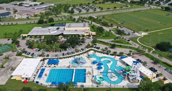 The North Port Aquatic Center.
