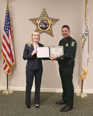 Senior Assistant General Counsel Crystal Bailey is promoted to general counsel by Sarasota County Sheriff Kurt Hoffman, the Sheriff's Office announced Thursday, Jan. 21, 2021.
