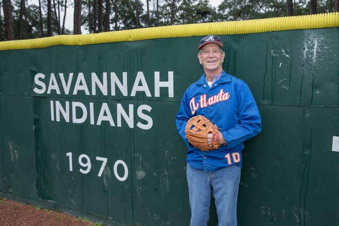 Savannah resident Robert Belloir played for the Savannah Indians, a minor-league affiliate of the Cleveland Indians, in 1970. He visited Grayson Stadium on Friday, Jan. 8, 2021.